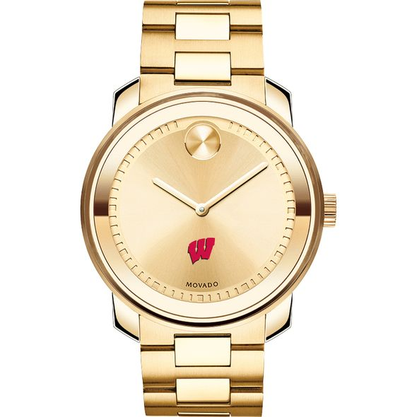 University of Wisconsin Men's Movado Gold Bold - Image 2