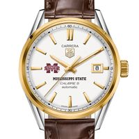 Mississippi State Men's TAG Heuer Two-Tone Carrera with Strap