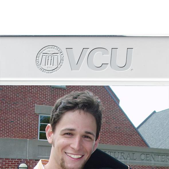VCU Polished Pewter 5x7 Picture Frame - Image 2