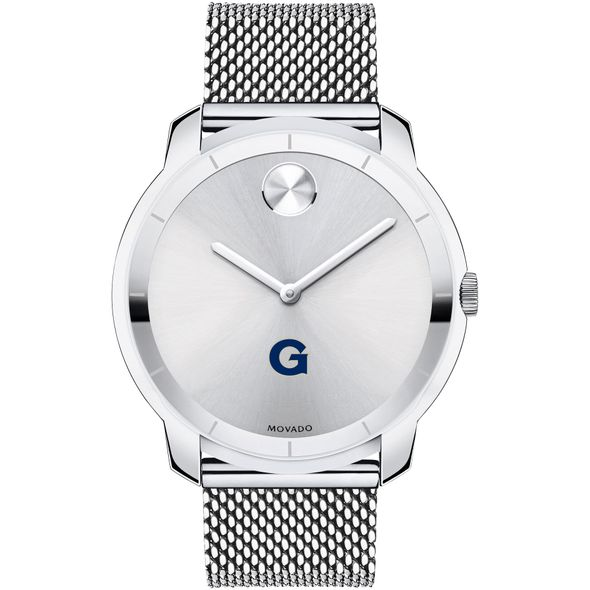 Georgetown University Men's Movado Stainless Bold 44 - Image 2