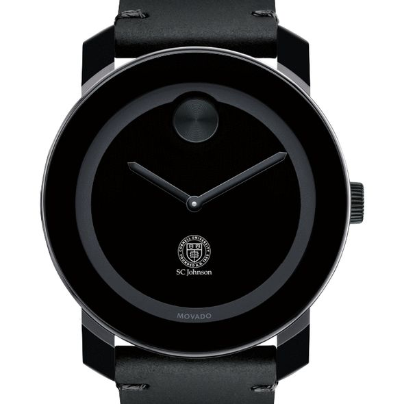 SC Johnson College Men's Movado BOLD with Leather Strap