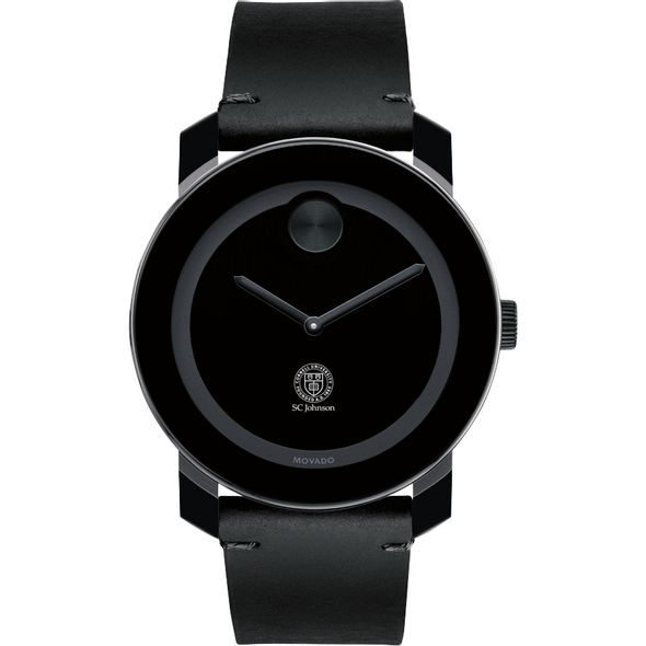 SC Johnson College Men's Movado BOLD with Leather Strap - Image 2