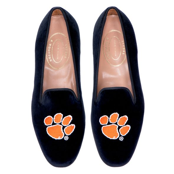 Clemson Stubbs & Wootton Women's Slipper - Image 1