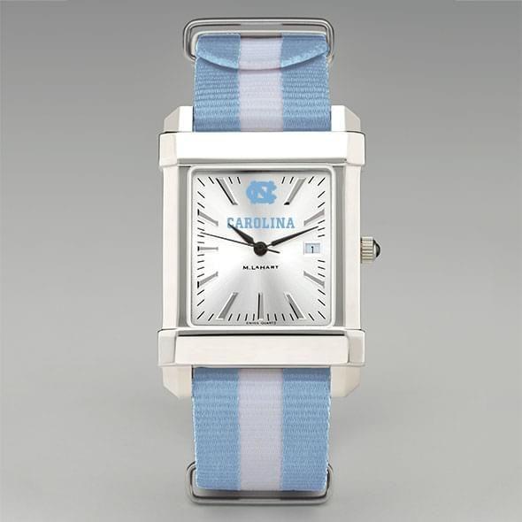 University of North Carolina Collegiate Watch with NATO Strap for Men - Image 2