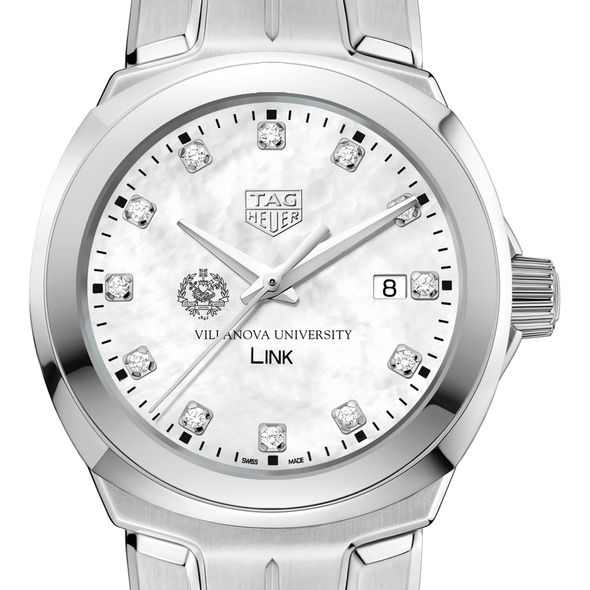 Villanova University TAG Heuer Diamond Dial LINK for Women