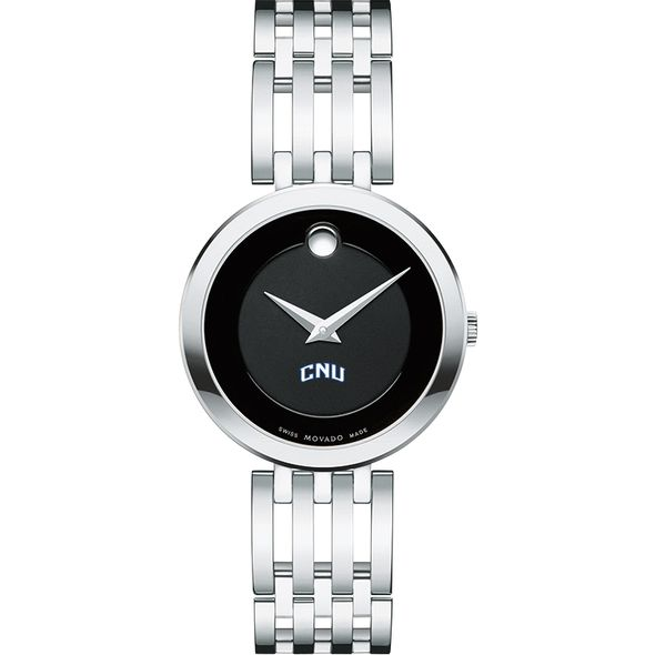 Christopher Newport University Women's Movado Esparanza Stainless Steel Museum with Bracelet - Image 2