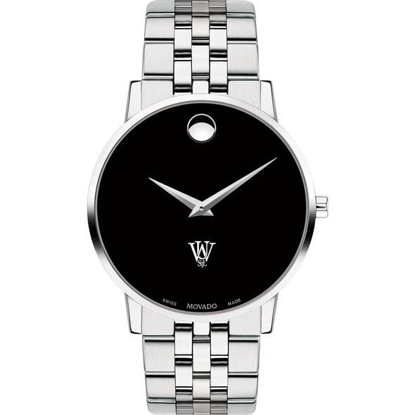 WUSTL Men's Movado Museum with Bracelet - Image 2