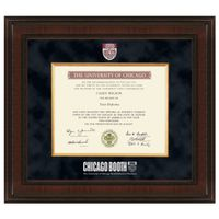 Chicago Booth Diploma Frame - Excelsior