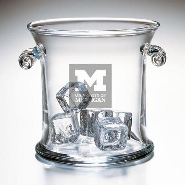 Michigan Glass Ice Bucket by Simon Pearce - Image 2
