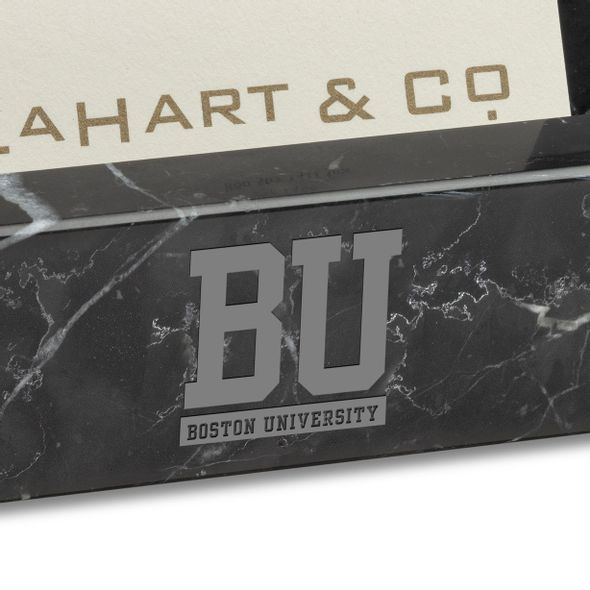 BU Marble Business Card Holder - Image 2