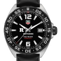 Rutgers University Men's TAG Heuer Formula 1 with Black Dial