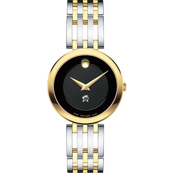 University of Maryland Women's Movado Esparanza Two-Tone Museum with Bracelet - Image 2