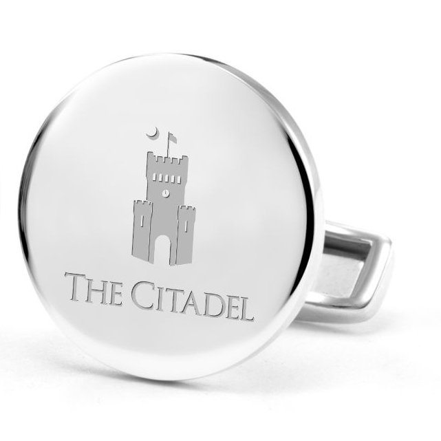 Citadel Cufflinks in Sterling Silver - Image 2