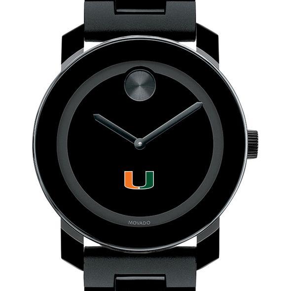 University of Miami Men's Movado BOLD with Bracelet - Image 1