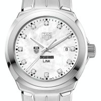 Chicago Booth TAG Heuer Diamond Dial LINK for Women
