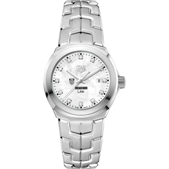 Chicago Booth TAG Heuer Diamond Dial LINK for Women - Image 2