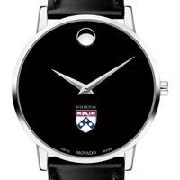 Wharton Men's Movado Museum with Leather Strap