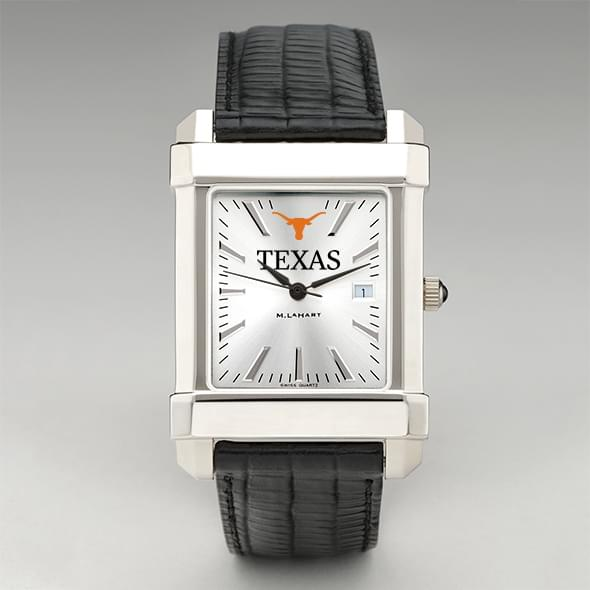 Texas Men's Collegiate Watch with Leather Strap - Image 2
