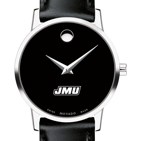James Madison Women's Movado Museum with Leather Strap