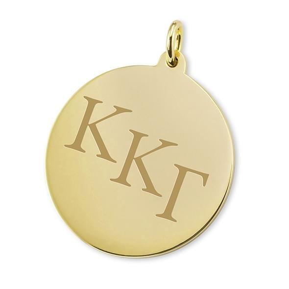 Kappa Kappa Gamma 14K Gold Charm - Image 1