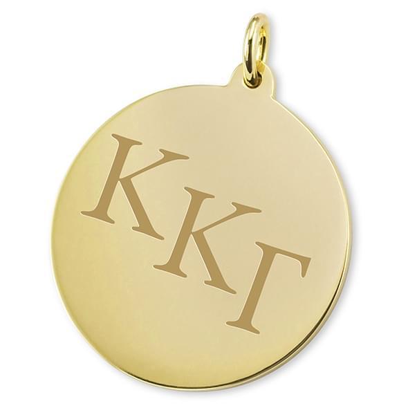 Kappa Kappa Gamma 14K Gold Charm - Image 2