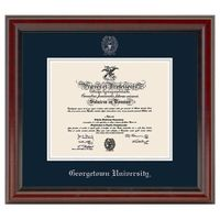 Georgetown University Diploma Frame, the Fidelitas