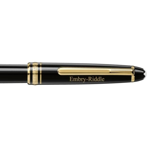 Embry-Riddle Montblanc Meisterstück Classique Rollerball Pen in Gold - Image 2
