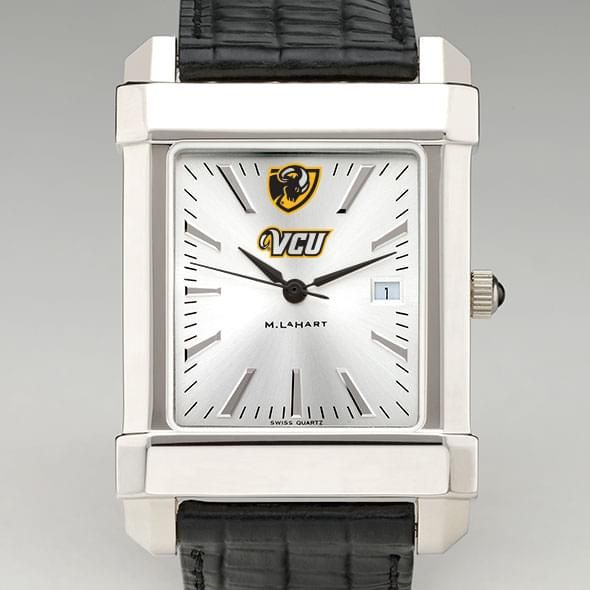 VCU Men's Collegiate Watch with Leather Strap