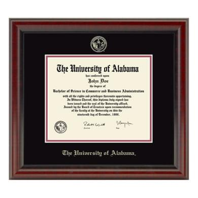 Official University of Alabama Diploma Frame, the Fidelitas ...