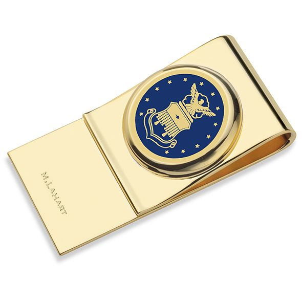 US Air Force Academy Enamel Money Clip - Image 1