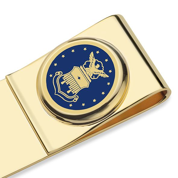 US Air Force Academy Enamel Money Clip - Image 2