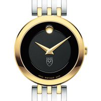 Emory University Women's Movado Esparanza Two-Tone Museum with Bracelet