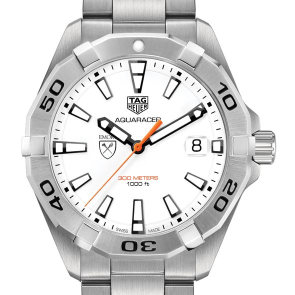 Emory University Men's TAG Heuer Steel Aquaracer