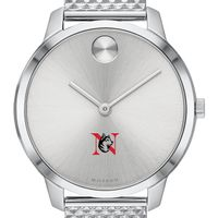 Northeastern University Women's Movado Stainless Bold 35