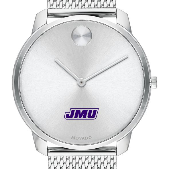 James Madison University Men's Movado Stainless Bold 42