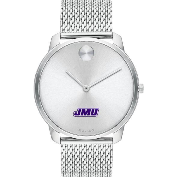 James Madison University Men's Movado Stainless Bold 42 - Image 2