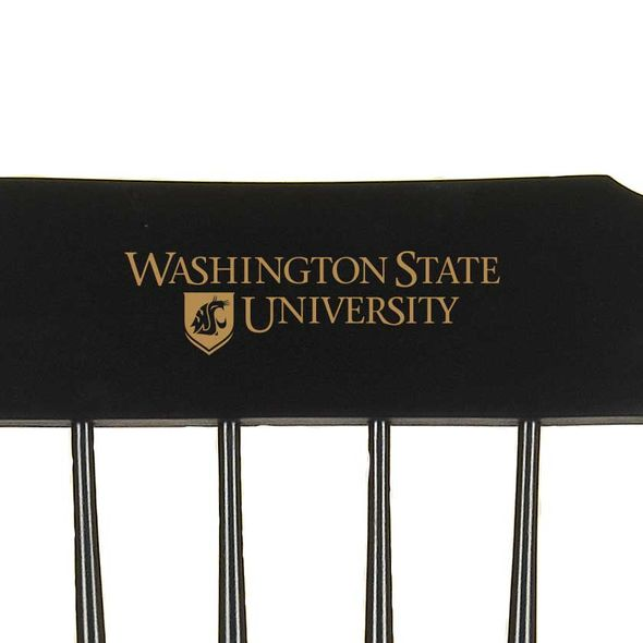Washington State University Captain's Chair by Hitchcock - Image 2