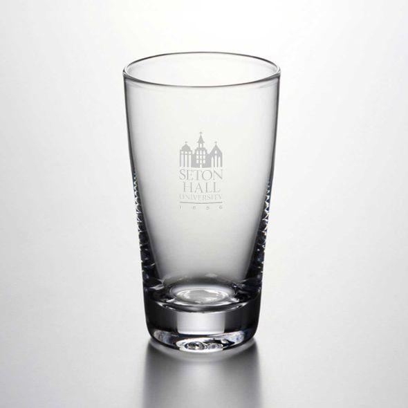 Seton Hall Ascutney Pint Glass by Simon Pearce - Image 1