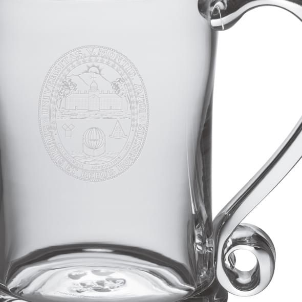 UVM Glass Tankard by Simon Pearce - Image 2