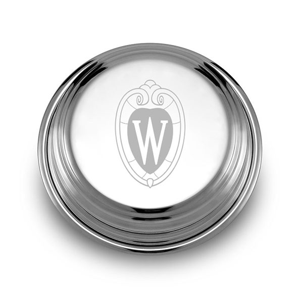 Wisconsin Pewter Paperweight