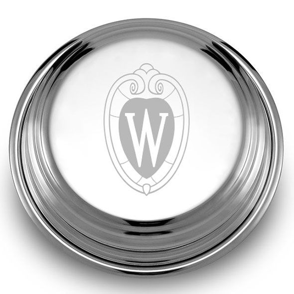 Wisconsin Pewter Paperweight - Image 2