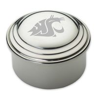 Washington State University Pewter Keepsake Box