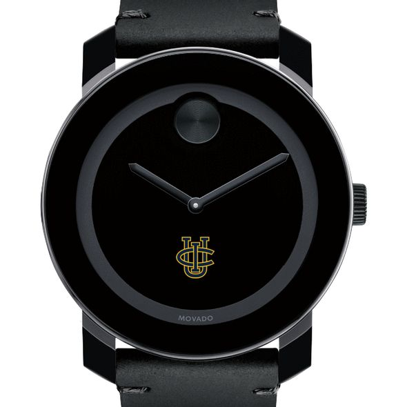 UC Irvine Men's Movado BOLD with Leather Strap