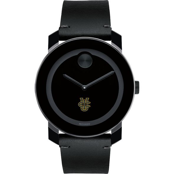 UC Irvine Men's Movado BOLD with Leather Strap - Image 2