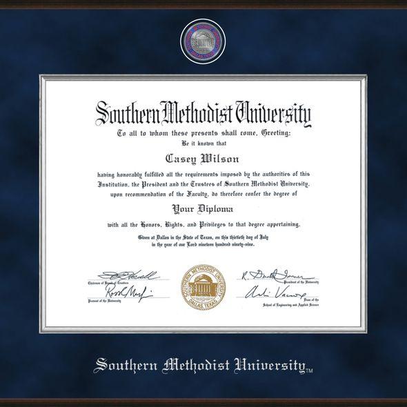 SMU Excelsior Diploma Frame Masters/Ph.D. - Image 2