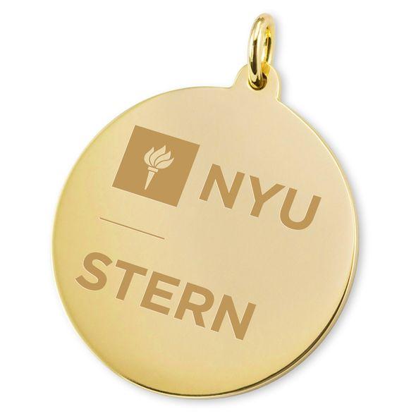 NYU Stern 14K Gold Charm - Image 2