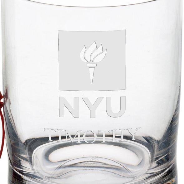 New York University Tumbler Glasses - Set of 4 - Image 3