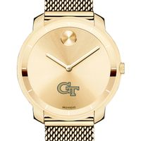 Georgia Tech Women's Movado Gold Bold 36