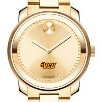 Virginia Commonwealth University Men's Movado Gold Bold