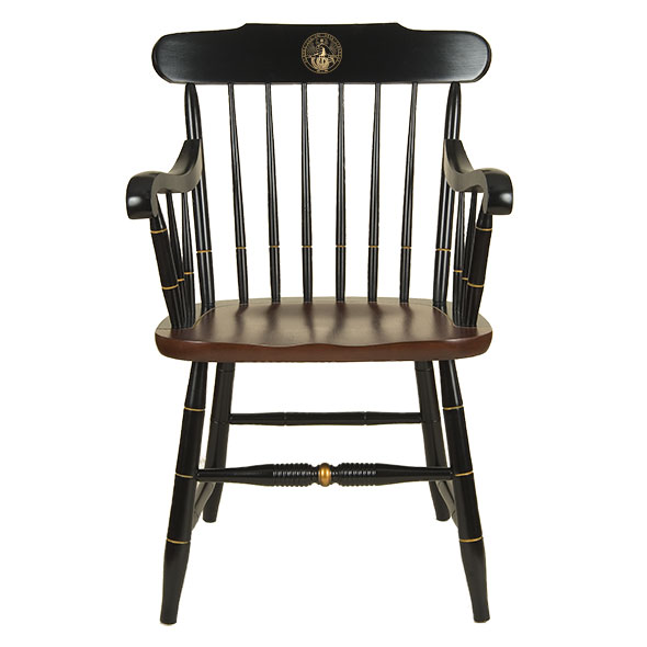 Davidson College Captain's Chair by Hitchcock